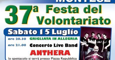 37a festa del volontariato Avap Montese